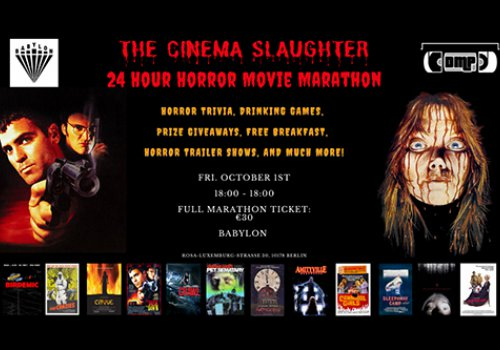 The Berlin 24 Hour Horror-a-Thon