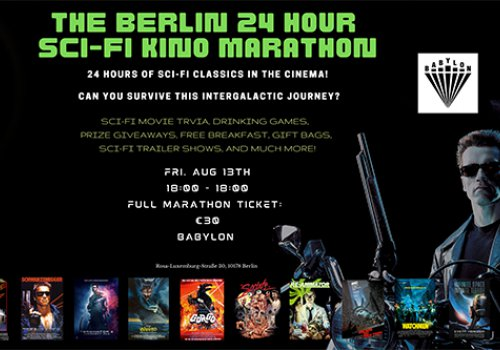 The Berlin 24 hour sci-fi Kino Marathon