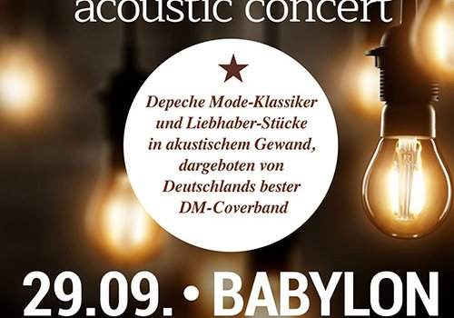 FORCED TO MODE acoustic concert