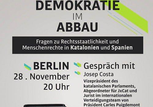 Demokratie im Abbau - Eintritt frei