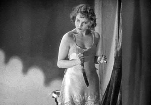 1929!: Blackmail (stumme Fassung!)