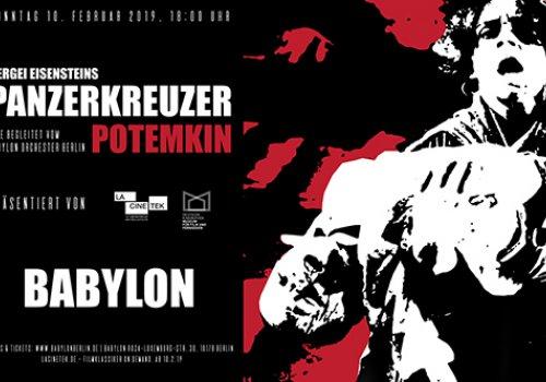 Panzerkreuzer Potemkin Live: Babylon Orchester Berlin