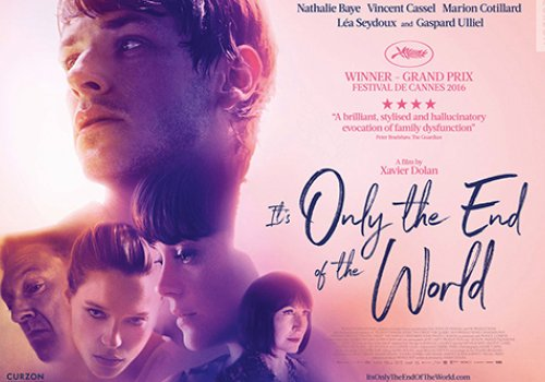 Xavier Dolan: It's only the end of the World